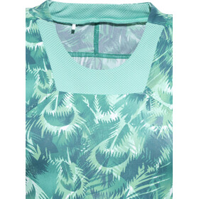 GORE RUNNING WEAR AIR PRINT T-shirt Femme, turquoise
